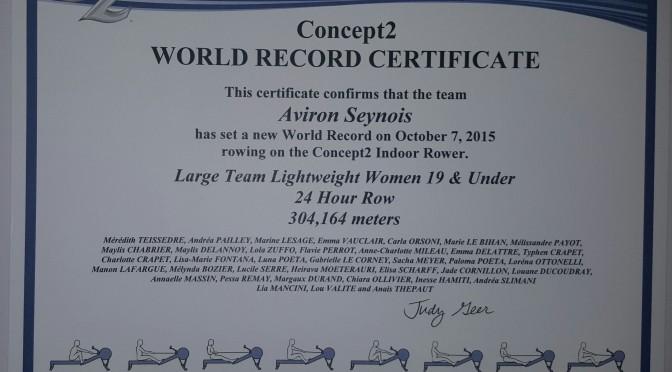 Le Record du monde des Mandréennes officiellement validé par les Etats-Unis