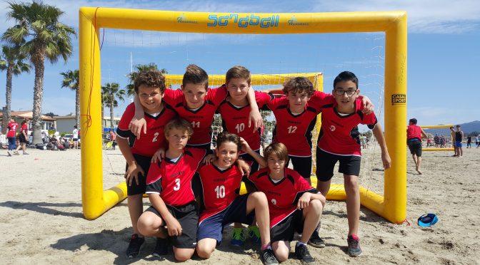 Compétition UNSS SANDBALL