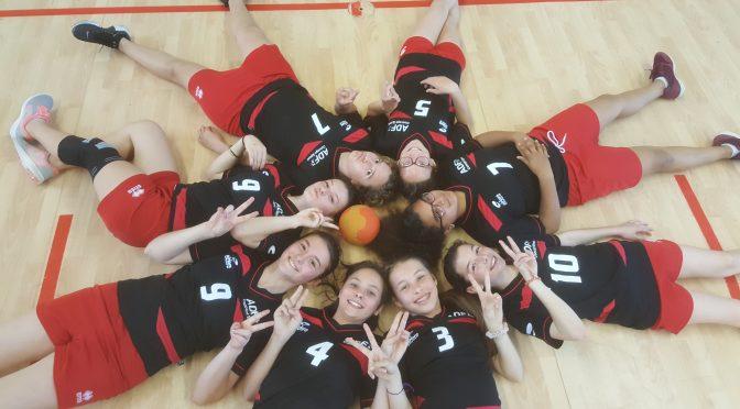 1/2 finale départementale UNSS Handball Benjamines