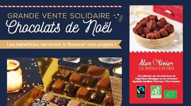 Vente de chocolats de Noël !