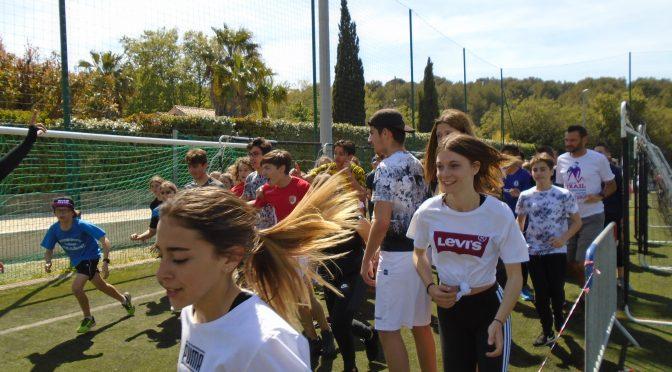 Plus de 2000 € récoltés par les élèves pour la course du Foyer !