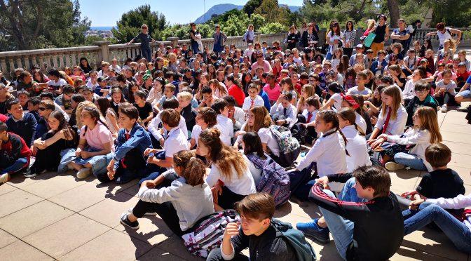Artistes et élèves : sortie à la villa Tamaris du 20 mai