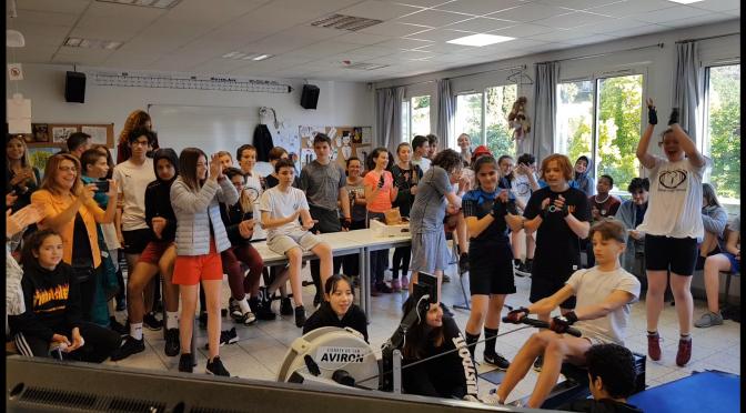 Les Collégiens deviennent CHAMPIONS DE FRANCE !!