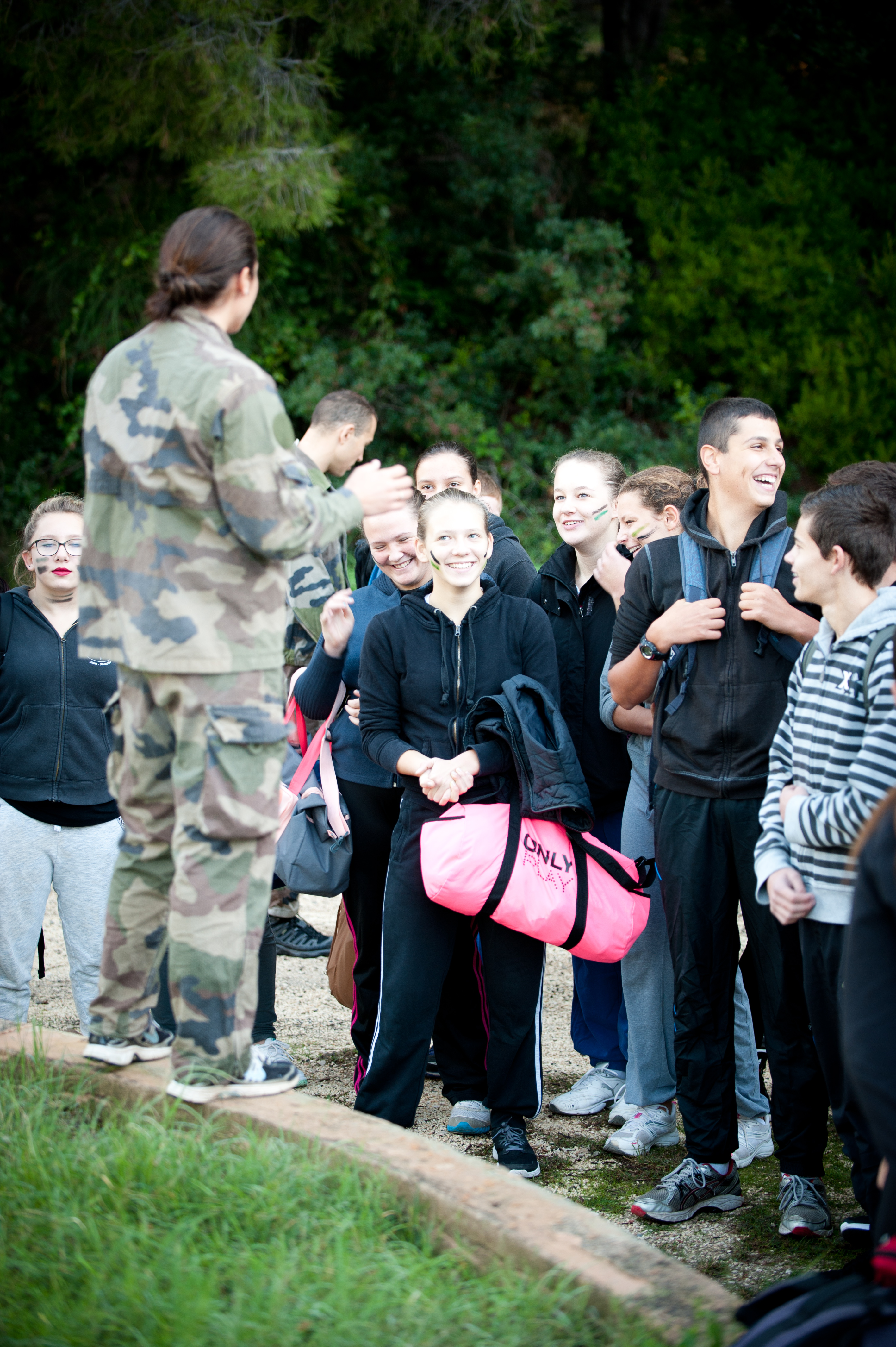 Journée Armée Jeunesse au Centre d'instruction navale de Saint-mandrier