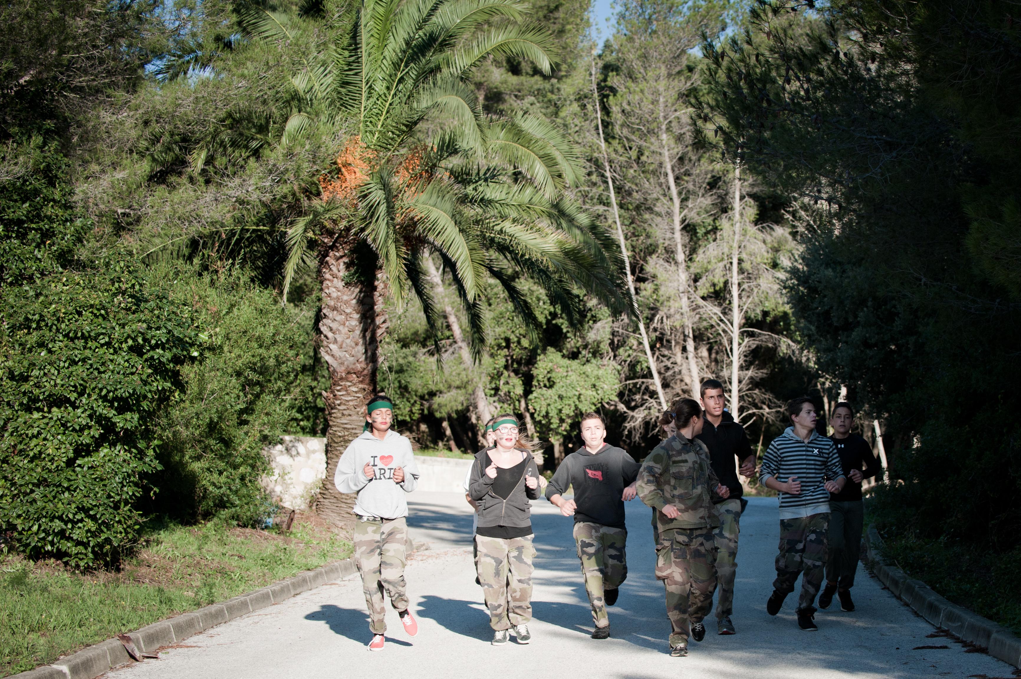 Journée Armée Jeunesse au Centre d'instruction navale de Saint-mandrier